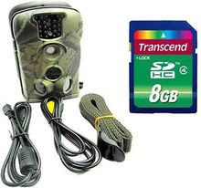 Free Shipping! Original LTL Acorn 5210A 12MP Game Hunting Scouting Trail Camera 940NM New+8GB SD Card