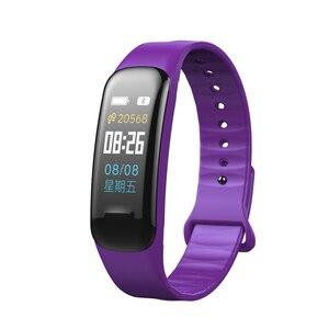 Image 5 - Imosi pulsera inteligente C1s con pantalla a Color, pulsera con supervisión de frecuencia cardiaca, medición de la presión arterial, banda rastreadora de ejercicios