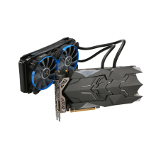 Colorful iGame GTX1080Ti W Video Graphics Card Liquid-Cooled GPU 1594-1708MHz 11GB GDDR5X 352bit With Water Cooling Fan gtx 1080