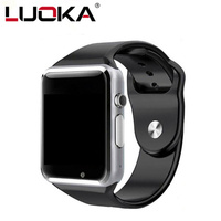 LUOKA A1   Smart     Watch   With Passometer Camera SIM Card Call Smartwatch For Xiaomi Huawei HTC Android Phone Better Than Y1 DZ09