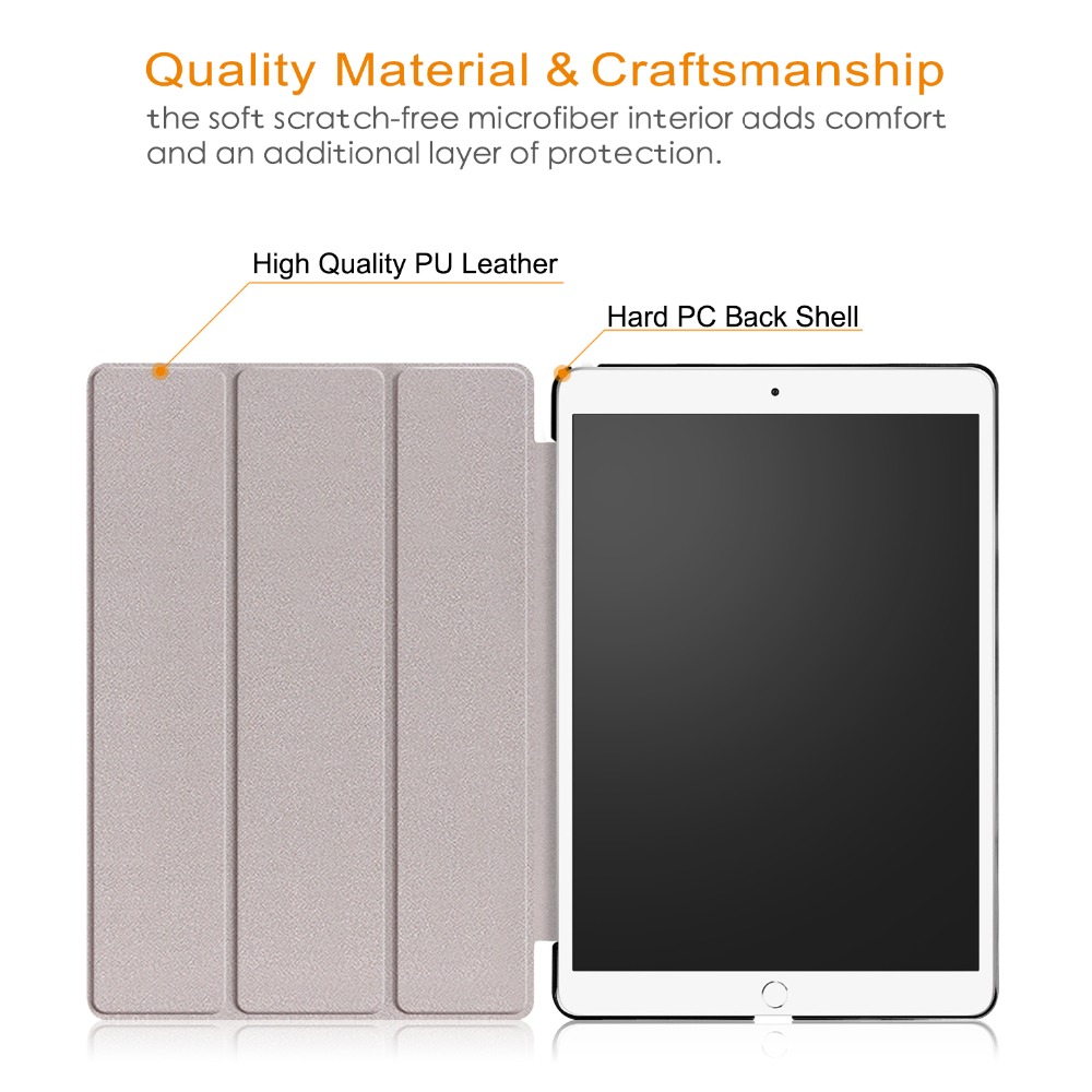Smart Cover Funda Tablet Slim Flip Case For ipad air 10 5 2019 10 5inch Tablet Stand Cover Case for ipad pro 10 5 gifts in Tablets e Books Case from Computer Office