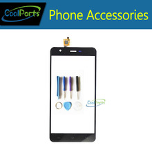 1PC/Lot High Quality For Jiayu S3 Touch Screen Digitizer Touch Panel Lens  Glass Replacement Part With Tool Black White Color