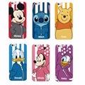 Disne y Minnie Mickey Pato Donald Dos Desenhos Animados Ponto Margarida Sportswear Telefone case para iphone 6 6 plus 6 s 5 5S 4S 7 7 plus samsung