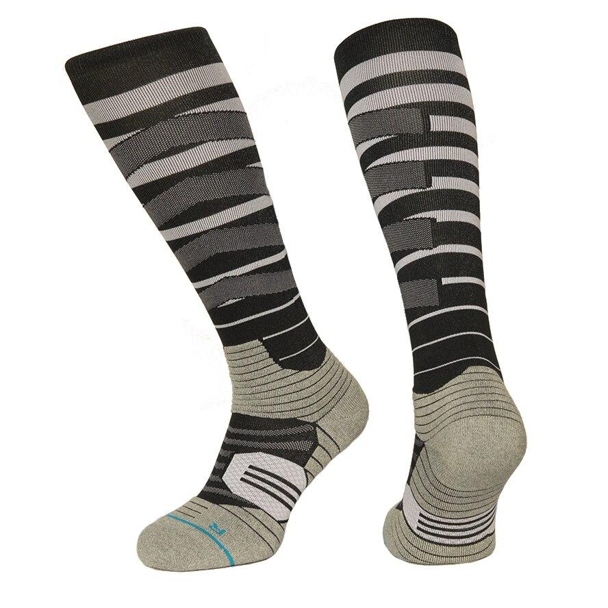 Сноуборд сжатия Носки для девочек Для мужчин coolmax нейлон колено высокие Вело-носки Цвет Rush сетки спортивные thermo Носки для девочек nanpucrazy