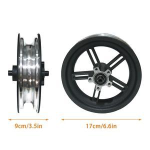 Image 5 - Nuevo Scooter Eléctrico Durable cubo de rueda de acero de aluminio cubo de rueda trasera con eje para Xiaomi M365 accesorios de Scooter eléctrico