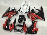 ערכות גוף CBR 600 F3 95 96 Abs Fairing CBR600 F3 97 98 1995-1998 אדום שחור מעטפת פלסטיק CBR600 F3 1996 1197
