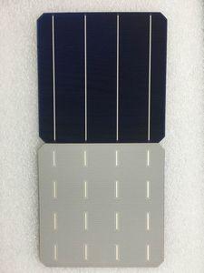 Image 1 - 100Pcs 5.03W 20.6% effcienza grado A 156*156MM cella solare in silicio monocristallino Mono fotovoltaico 6x6 per pannello solare
