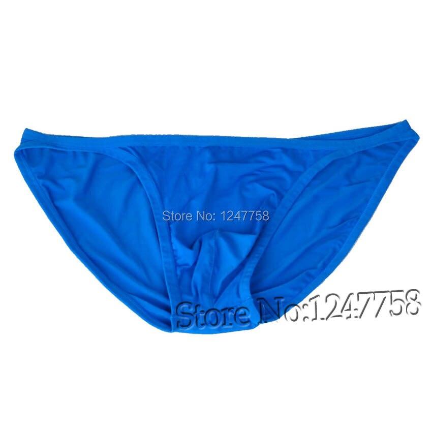 Men's Pouch Bikini Spandex Comfy Briefs Mini Fine Strap Short Pants Sexy Guys Men Underwear
