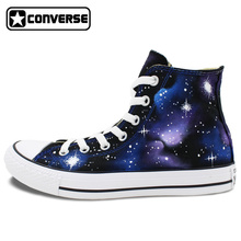 Sneakers Galaxy Converse Chuck Taylor High Top Washable Custom Hand Painted Shoes Men Women Gifts