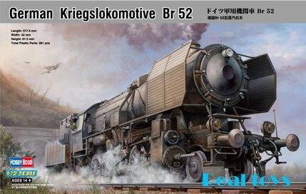 Hobby Boss model 82901 1/72 German Kriegslokomotive BR-52 plastic model kit