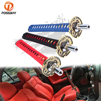 POSSBAY Universal Car Gear Shift Knob Manual Transmission Gear Stick Shifter Lever Knob for Audi Opel Passat Peugeot Kia Ford