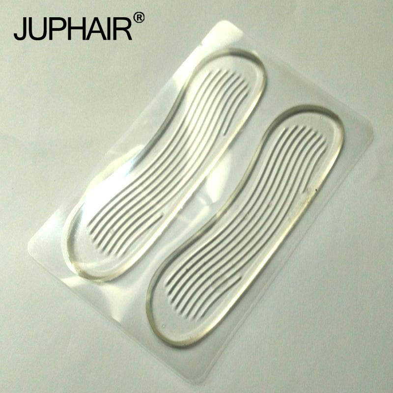 JUP 3 Pairs Women High Quality Pro New Fashion Transparent Classical Silicone Cushion Gel Heel Foot Care Shoe Insert Pad Insole jup 12 pairs genuine leather gel silicone shoe pad insoles women s high heel cushion protect comfy feet palm care pads foot wear