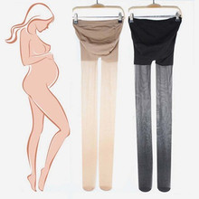 2PCS/LOTS  Pregnancy Clothing Maternity wear spring and summer new ultra-thin pregnant women stockings wholesale stomach lift XL