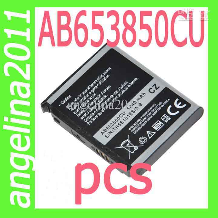 AB653850CU AB653850EZ Battery For Samsung I7500 I7500H I8000 I8000H i900 i900v i908 i909 i909 Galaxy S