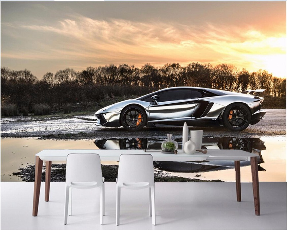 online get cheap cars wall papers com alibaba group custom mural 3d room landscape sports car scenery wall papers home decor 3d wall murals