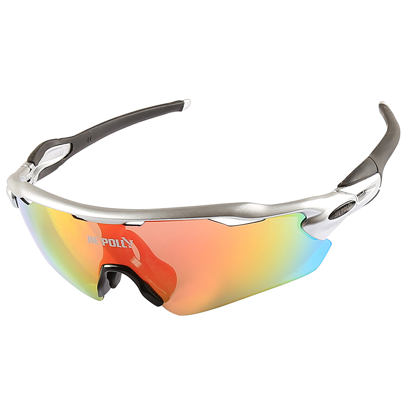 Jiepolly Polarized Cycling Sunglasses TR90 Bicycle Glasses MTB Mountain Bike Cycling Eyewear
