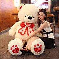 Fancytrader yaşam boyutu dev teddy bear dolması büyük sevgililer günü ayı oyuncaklar hayvanlar seni seviyorum