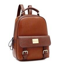 New Arrive Genuine Leather Mochilas Mujer Bag 2016 Large Capacity Women Travel Backpacks Female Schoolbag For Teenage Girls