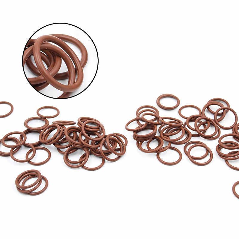 3 ชิ้น/ล็อตยางฟลูออรีนแหวนสีน้ำตาล FKM O ring Seal OD31/32/33/34/35/ 36/37/38/39/40*3mm ยาง O Ring ซีลแหวนการใช้ปะเก็น