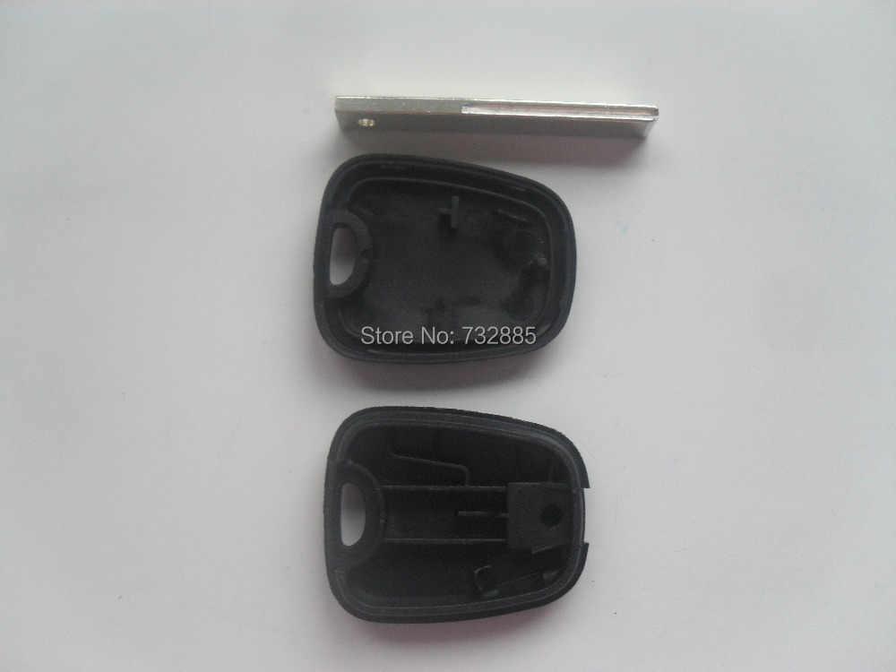 Carcasa de llave transpondedor para Citroen HU83 hoja con ranura para llave funda para Peugeot sin Logo