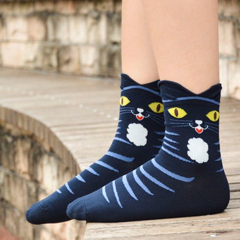 1Pair Cartoon Cute Smiling 3D Sock Mens Novelty Socks Short Shallow Mouth Ankle Sock Funny Compressie Socks Men Meias Homens