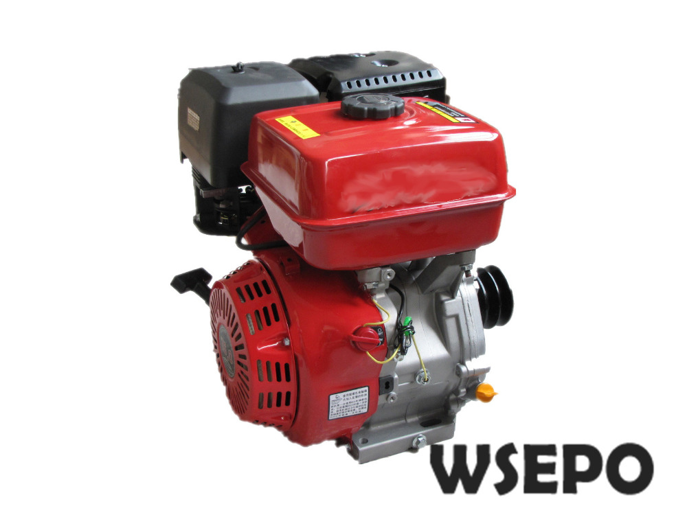 Factory Direct Supply WSE-190F(GX420 Type) 16HP 420CC Air Cool 4 Stroke Gas Engine,used for Gokart/Water Pump/Genset/Road Cutter