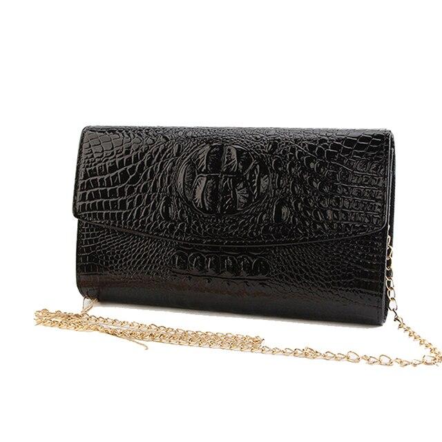 Gold Chain Clutch Bag Lady...