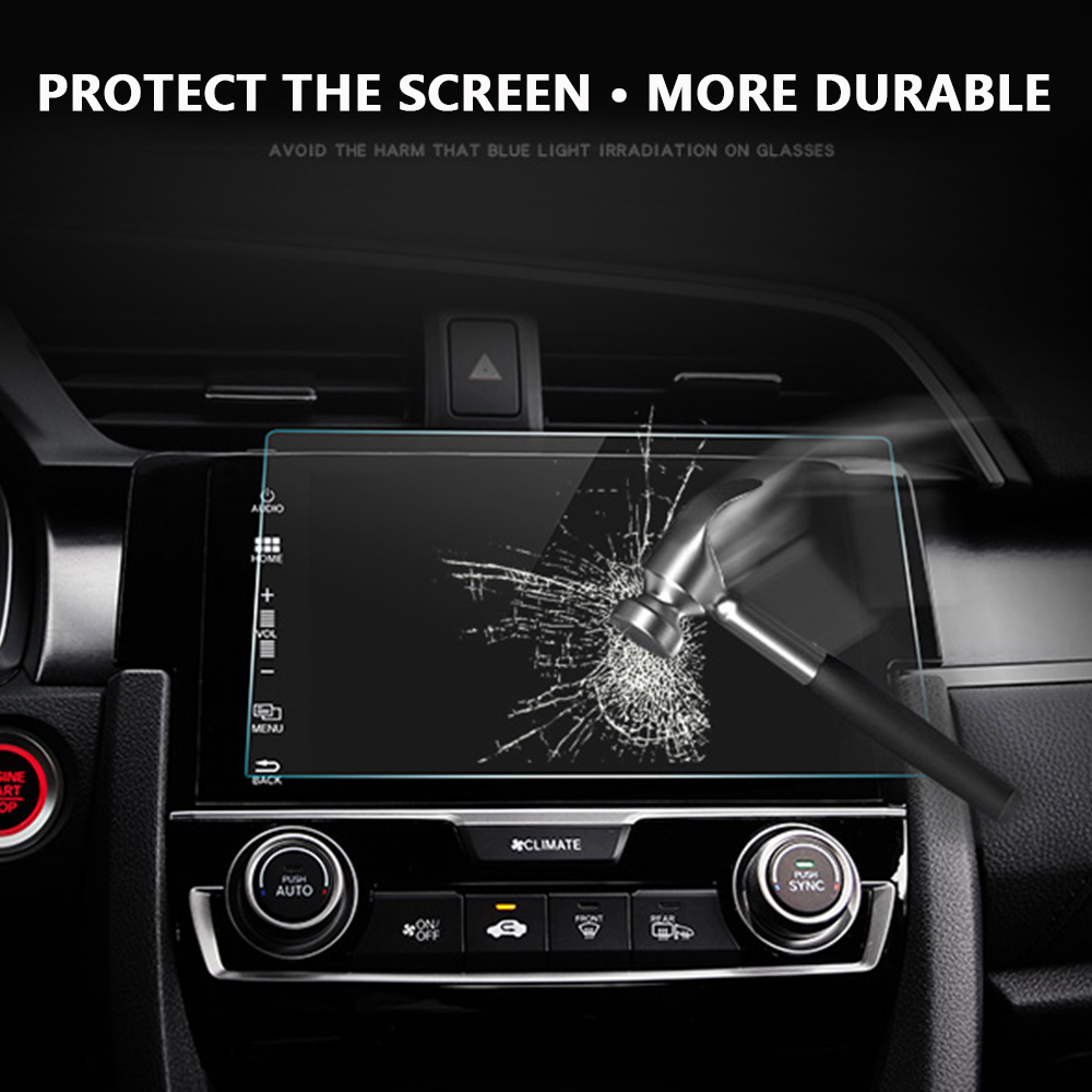 Vehemo 8 Inchs 177x100mm Screen Protector Protective Film for Car GPS Gurad Premium Tempered Glass Ultra