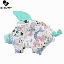 Newborn Shaping Pillows Baby Pillow Sleeping Support Prevent Flat Head Cushion Cute Pig Shape Infant Pillow