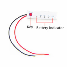 3S /4S Lithium Battery Indicator Board 12V 14.8V Power Indicator 11.1v 5 Indicator Board