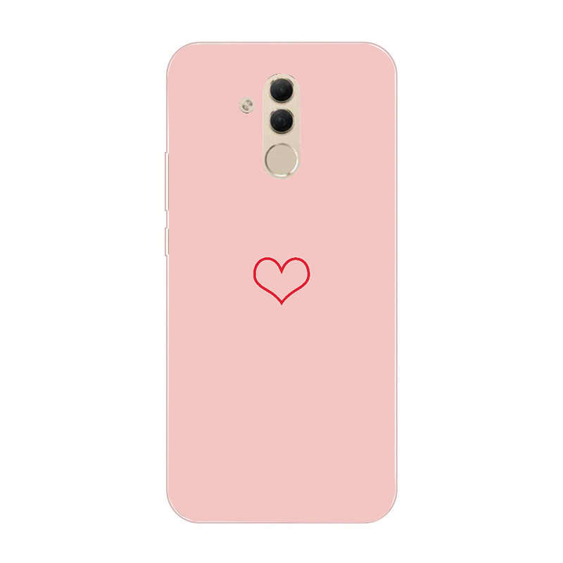 For Huawei Mate 20 lite Silicone Luxury Painted Cases Cover Back For Huawei P20 Lite Mate 10 Pro Honor 10 Lite P Smart 2019 Capa
