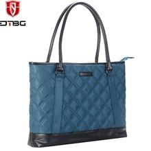 DTBG Women 15 15.6 Inch Water Resistant Laptop Tote Handbag Business Carrying Briefcase Notebook Bag for Macbook Pro Lenovo ASUS