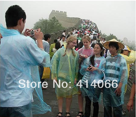 Free Shipping 2014 High Quality 10pcs/lot time travel camping emergency use and disposable raincoat raincoat