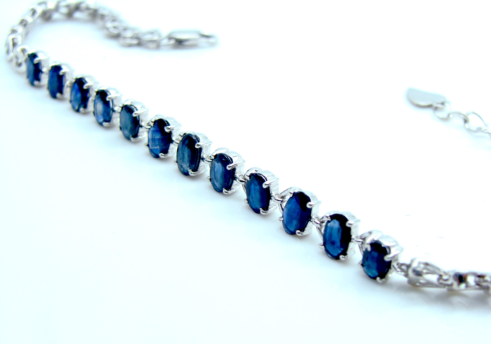 simulated cz sapphire plated v rhodium necklace p width jewelry blue round set bling earring
