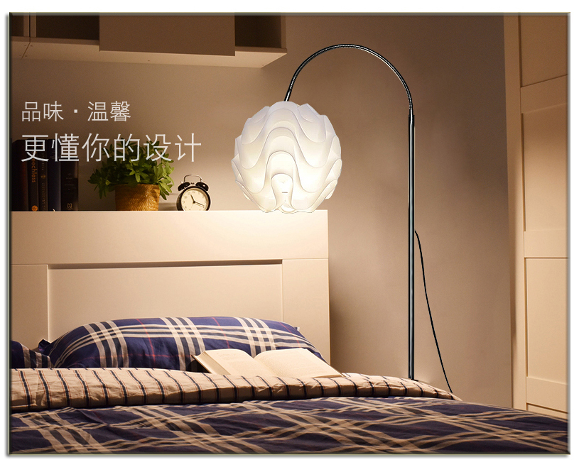 Creative pastoral simplicity floor lamps standing staande lamp led