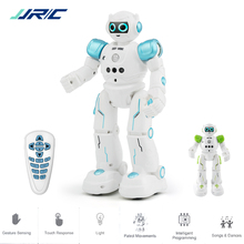 JJRC R11 Educational Robot Toy Intelligent Programmable Walking Music Dancing Combat Defender Robo Kids Robotica Kit Rc Robot jjrc r11 rc robot intelligent programmable walking dancing combat defender rc robot spare parts toy gift for children kids toys
