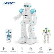 JJRC R11 Educational Robot Toy Intelligent Programmable Walking Music Dancing Combat Defender Robo Kids Robotica Kit Rc Robot(China)