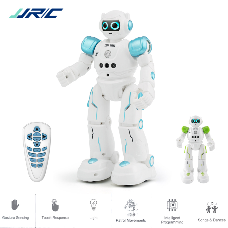 JJRC R11 Educational Robot Toy Intelligent Programmable Walking Music Dancing Combat Defender Robo Kids Robotica Kit Rc Robot