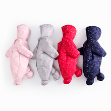 2018 HELLO BABY clothes girl Siamese winter warm Fleece