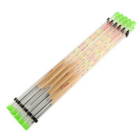 5pack X Good Deal 2016Hot Sale High Quality Durable 10pcs Lots Wood Fishing Float Tackle Tools