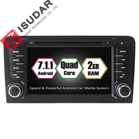 Android 7 1 1 Two Din 7 Inch Car DVD Player Multimedia For A3 2002 2013