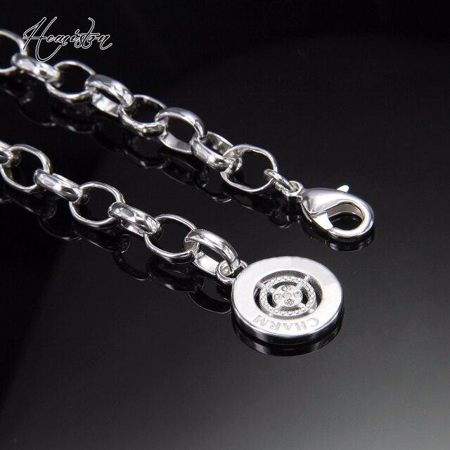 Фото классический браслет с шармами томас круглой застежкой подходит