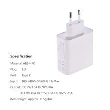 Adaptador de Energia DYF 045WPD USB C Tipo C 45 w PD Charger Power Adapter para Macbook Pro AIRBOOK XIAO MI HUAWEI COMPANHEIRO sério celular