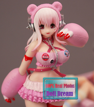 17cm SONICO Action Figure Super Sonic Pink Gloomy Ver.Sexy PVC Anime Figure Sexy Girl Action Figure Collection(China)