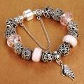 Promotion Sale Antique 925 Silver Charm Bracelets With Wing Pendants Fit Pandora Bracelet for Women Wedding