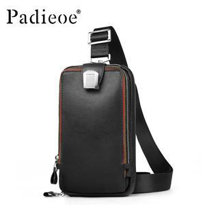 76f74edf00 PADIEOE crossbody bag Men s genuine leather shoulder bags