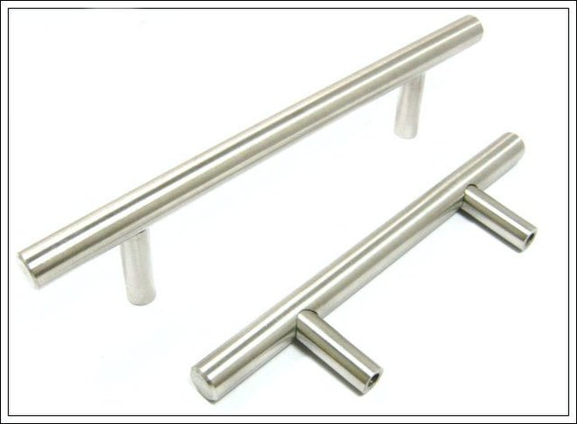kitchen cabinet handle, bar pull handle solid stainless steel 304