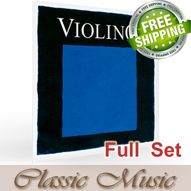 Free shipping ,Pirastro Violino Violin Strings, Made in Germany, 417021 free shipping evah pirazzi violin strings full set ball end made in germany for 4 4