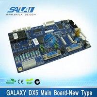 Высокое качество! Эко принтер растворителя Galaxy dx5 плата Новый Тип