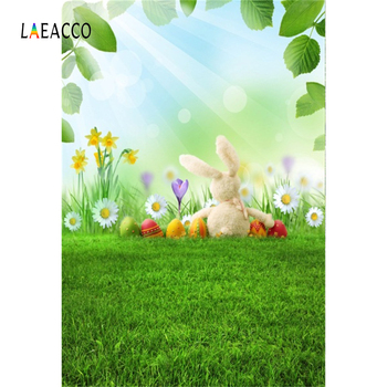 Laeacco Personalized Easter Peter Rabbit party Baby Custom Scene Photography Backgrounds Photographic Backdrops For Photo Studio